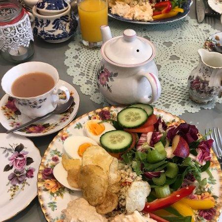 Scarlett S Vintage Tea Rooms Knaresborough Vegetarian