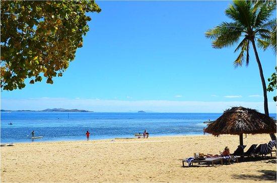 Castaway Island (Qalito), Fiji: View from bure