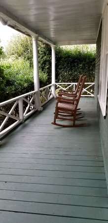 1906 Pine Crest Inn: the porch outside our room