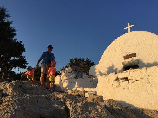 Monolithos Castle: kapliczka