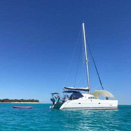 catamaran talio croisières nosy be Madagascar