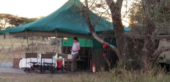 Wayo Africa: social/eating area