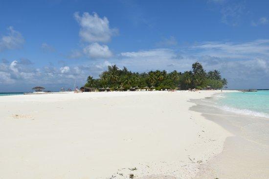 Maayafushi Island: LINGUA DI SABBIA