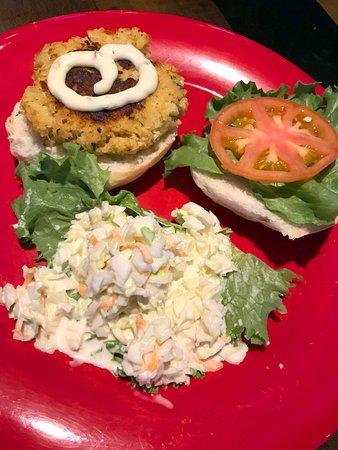 Boyertown, Pensilvanya: Crabby Patty sandwich