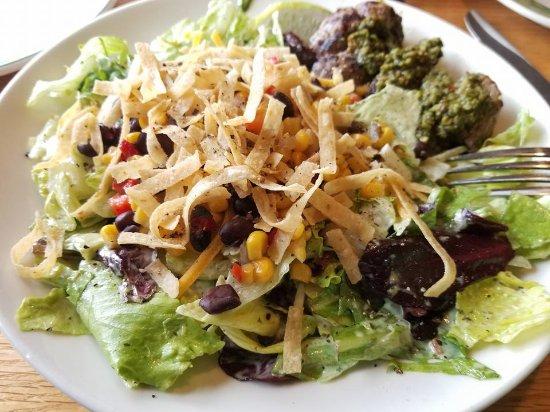 Waldorf, MD: My Steak Salad was delicious.