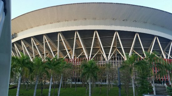 """Inside the Mammoth Structure - Picture of Philippine Arena, BocauePhoto: """"Inside the Mammoth Structure"""""""