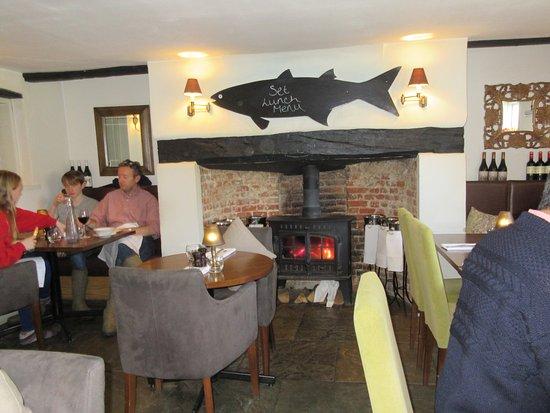 Sidlesham, UK : dining area