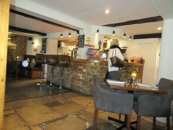 Sidlesham, UK: Bar area