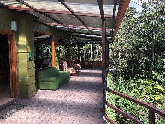 Cala Lodge: Terrace