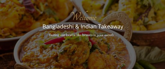 Winscombe, UK: Touch Of Spice Takeaway