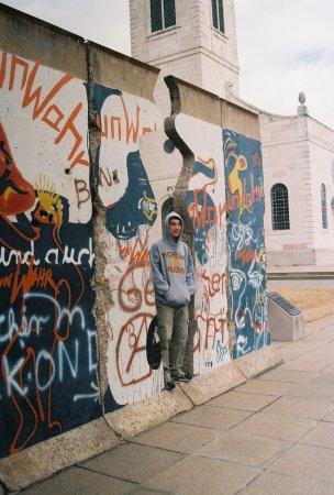 "Fulton, MO: A portion of the original Berlin Wall - named by Churchill as ""The Iron Curtain."""