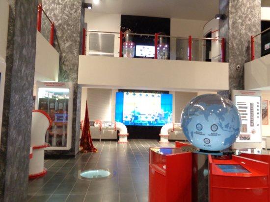 Usinsk, Rosja: музей нефти в Усинске