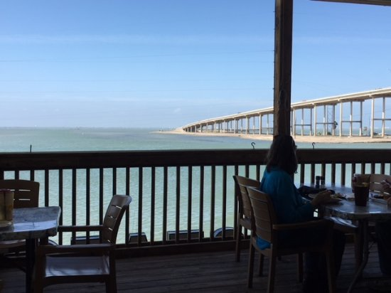 Waterfront Dining In Corpus Christi Doc S Seafood Steak Restaurant View Of The Gulf Intracoastal Waterway From Area