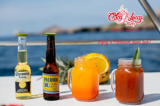 Chica Locca : Premium Open Bar... Margarita, Piñas Colada, Daikiry and all you can imagine