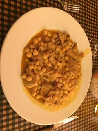 Guardiola de Bergueda, Spain: Garbanzos con callos