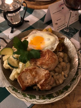 Kartoffel Keller Lubeck : Pan fried potatoes with pork