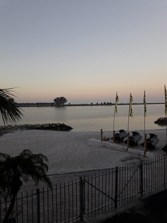 GulfView Hotel - On The Beach : LOOKING OUT OF ROOM 252