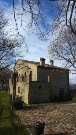 Sarnano, İtalya: Casarão do agriculturismo