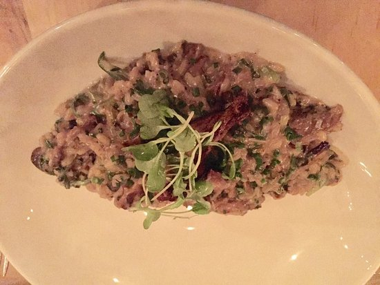 "The Elm Tree Restaurant: The Elm tree ""mushroom risotto"""