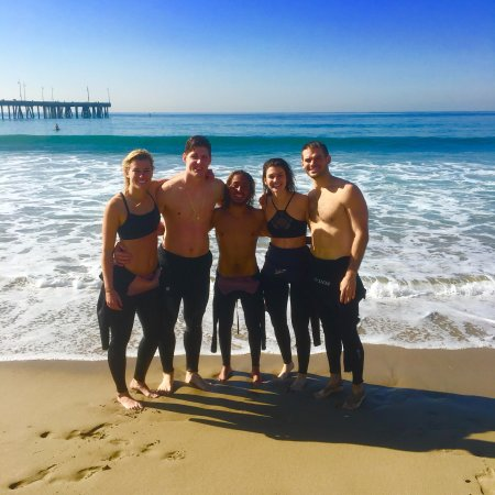 Aloha Brothers Surf Lessons Instructor Mehdi Making New Friends In Venice Beach