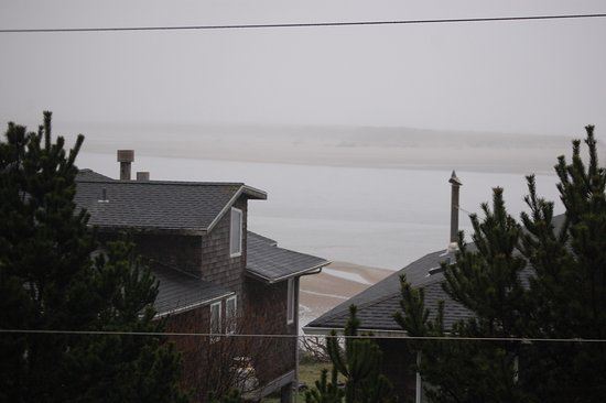 Happy Camp Hideaway: View from the living room. Would be great for storm watching!