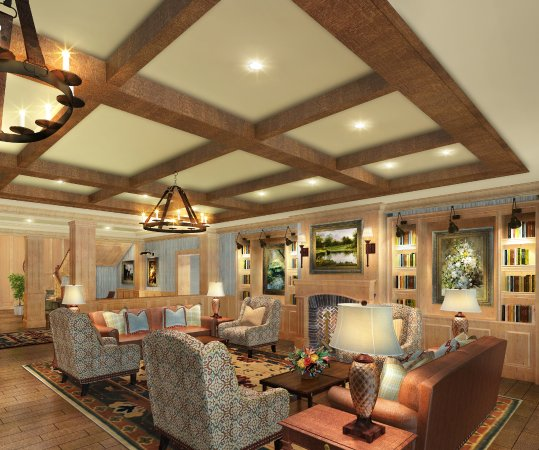 Adairsville, Джорджия: Living Room at the Inn at Barnsley Resort (Opening in March 2018)