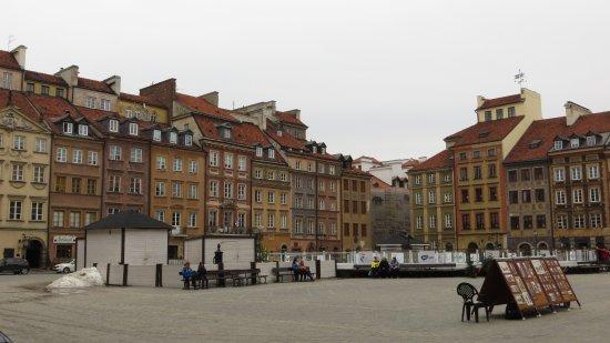 Old Town Market Square: Рыночная площадь Варшавы
