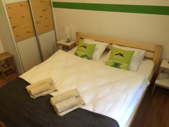 Apartmany Planina Spálňa S Manželskou Posteľou Bedroom With Twin Bed