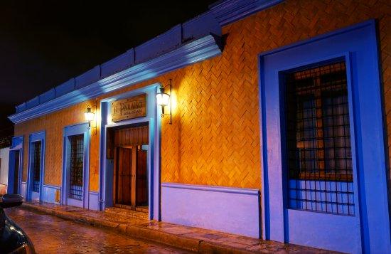 Hotel Posada El Paraiso: Fachada principal