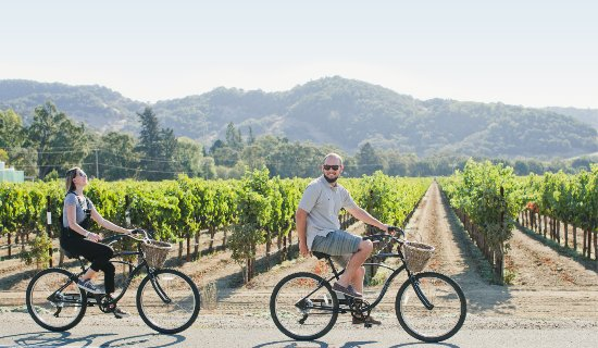 Yountville, Californie : This is how wine country was meant to be experienced