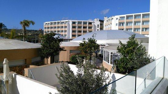 db Seabank Resort + Spa: Views and room on floor two pool view