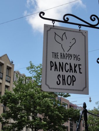 The Happy Pig Pancake Shop Amsterdam: Happy Pig