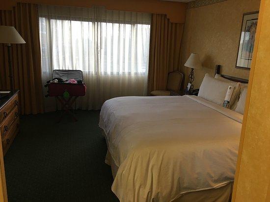 Room 205 bedroom - Picture of Albuquerque Marriott Pyramid North ...