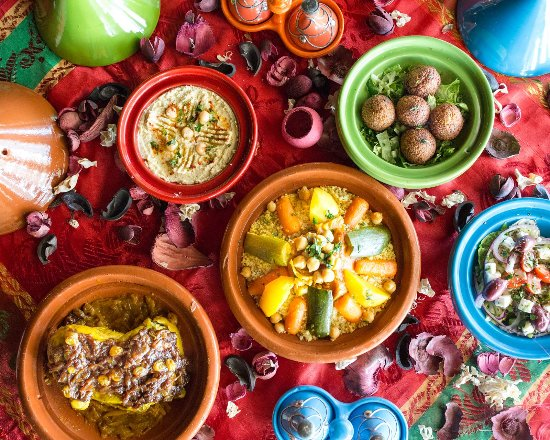 Avon, IN : Moroccan food