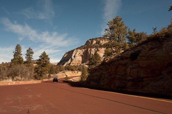 Zion Canyon Scenic Drive: entrance
