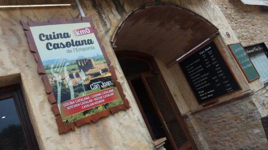 Sant Feliu de Boada, İspanya: Gran Joan!