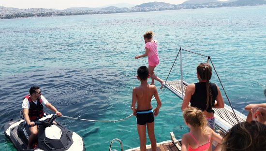Athens Mex Yachting: Diving time...