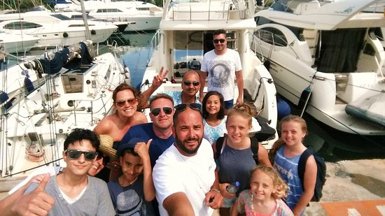 Athens Mex Yachting: At the end of our trip ...everybody satisfied