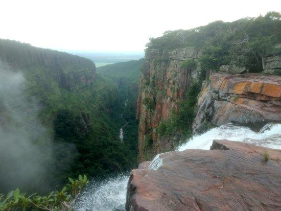 Vila Bela da Santissima Trindade, MT: Cachoeira do Jatobá