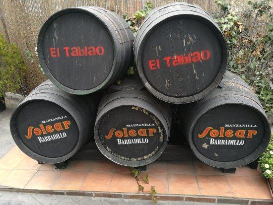 Galapagar, Spain: Entrada al restaurante.