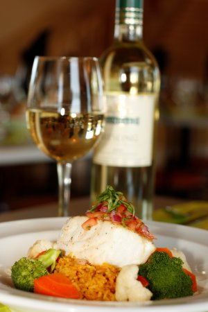 Cardigan, Canada: A Great Pairing : Fresh Local Halibut and a Lively, Light Bodied Riesling