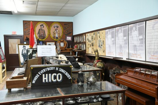 Hico, Teksas: Lots of memorabilia and documents...