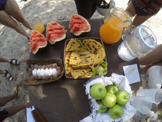 San Gil, Colombia: Lunch in the Gorge