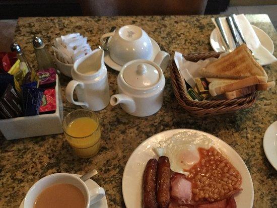 Celtic Lodge Guesthouse: Full Irish Breakfast