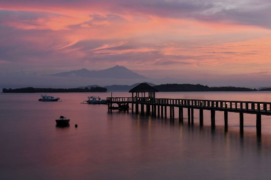 Cocotinos Sekotong, Boutique Beach Resort & Spa : View from Ella Ella Restaurant