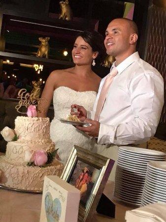 Sandos Playacar Beach Resort: Wedding Cake
