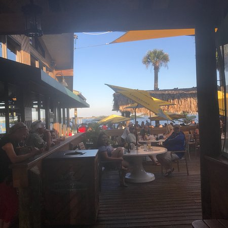 Grills riverside seafood deck tiki bar melbourne restaurant reviews phone number photos - Grills seafood deck tiki bar ...