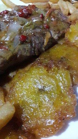 Atenas, Costa Rica: Lomito con salsa de Jalapeños