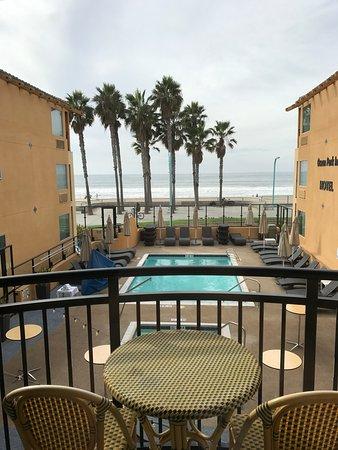 Ocean Park Inn : Partial ocean view