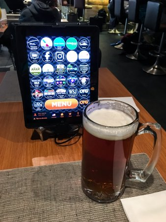 Essington, PA: Order Your Beer Using an iPad